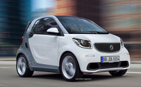 Smart Fortwo 2014 - Puce coriace - Actualités - L'Automobile Magazine | Buzz Actu - Top news on the web ! | Scoop.it