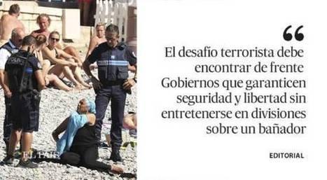 'Burkini' no es terrorismo, editorial de El País, 27.08.16 | Diari de Miquel Iceta | Scoop.it