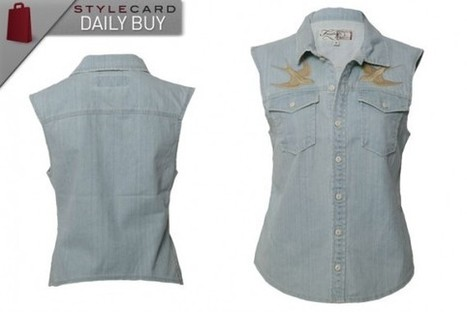 Daily Buy: The Denim Waistcoat | StyleCard Fashion Portal | StyleCard Fashion | Scoop.it