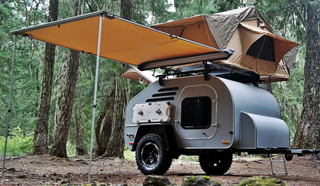 TerraDrop, la caravane origami | Camping en France et ailleurs | Scoop.it