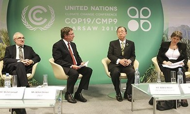 Walk out at Warsaw of UN climate talks as compensation row rumbles on | Oven Fresh | Scoop.it