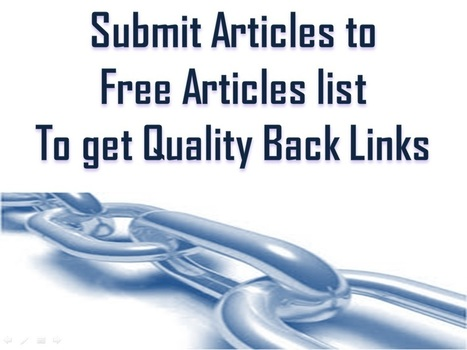Free Social Bookmarking List,Directory Submissions List,Free Article Submission Sites List | SEO Tips | Scoop.it
