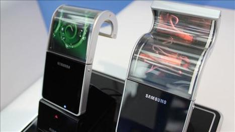 Video - Samsung Plans to Mass-Produce Flexible Smartphone Screens - WSJ.com | MobileWeb | Scoop.it