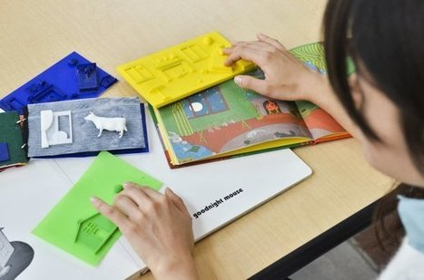 Customize and Print 3D Picture Books for Visually Impaired Kids | Make: | Technology in Art And Education | Scoop.it