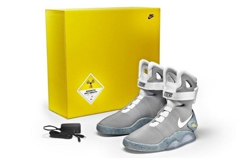 Nike Air Mag Back To The Future  Limited Edition Shoes - Nike Online Store | Jordan 28 for sale | Scoop.it