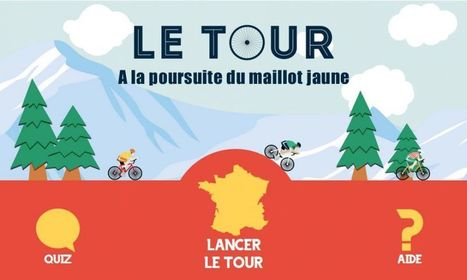 Le Tour : à la poursuite du maillot jaune | Des jeux autorisés au CDI | Scoop.it