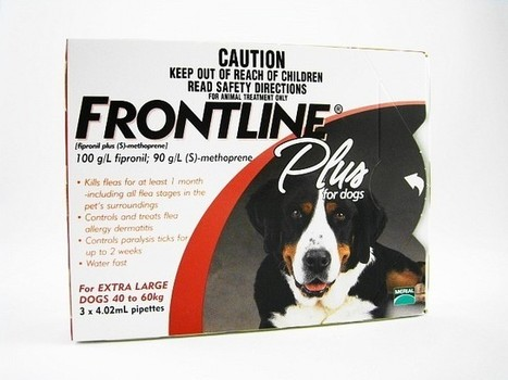 Frontline plus for Dogs 89-132lbs | Frontline plus for Extra-large Dogs | fleas and tick Control for dogs | Scoop.it