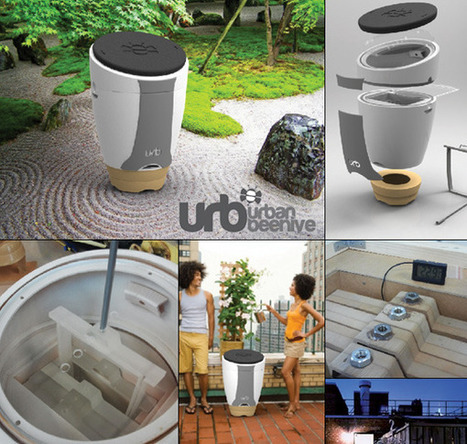 The Urb – Urban Beehive for Homes by Chris Weir » Yanko Design | Vintage Living Today For A Future Tomorrow | Scoop.it