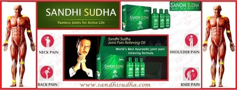 Why Sandhi Sudha is best joint pain relief oil ? | Original SandhiSudha - Joint Pain Relief Herbal Formula | Scoop.it