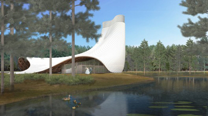 Heavens above: Wedding chapel, Florida, by Brooks Scarpa Architects with KZF Design.   Culture Houses   Scoop.it