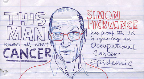 "Hazards Magazine: ""Simon Pickvance: This man knows all about cancer"" 