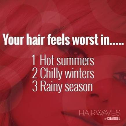 Your hair feels worst in? | Fashion in UAE | Scoop.it