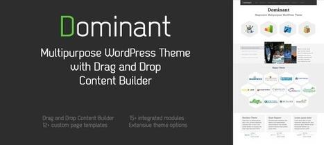 Dominant - Multipurpose WordPress Theme - WP Eden | WordPress | Scoop.it