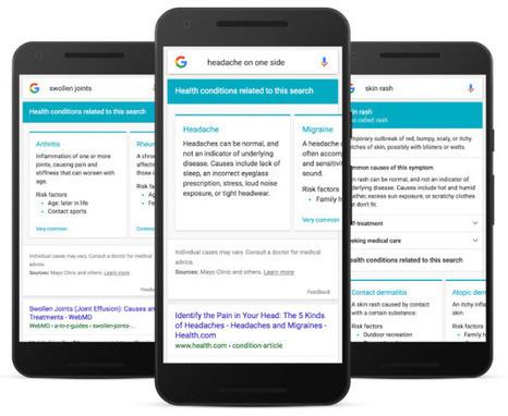 Google : de la recherche au diagnostic jusqu'à l'automédication | Analytics, datavisualisations et horizons prédictifs | Scoop.it
