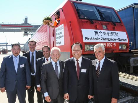 Zhengzhou to Hamburg freight train arrives | Rail leaders | Scoop.it