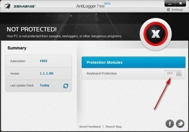 Free Anti-Keylogger For System Wide Protection: AntiLogger Free | Time to Learn | Scoop.it