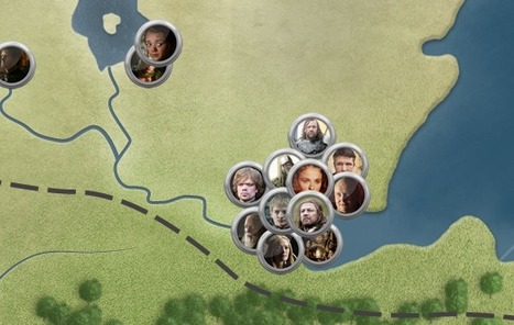 Game of Thrones Map | Education & Numérique | Scoop.it