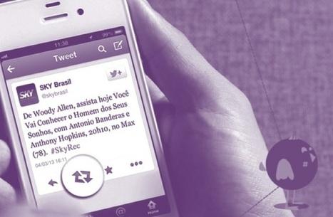 Brand utility, quand Sky Brasil transforme Twitter en télécommande | communication par l'objet | Scoop.it