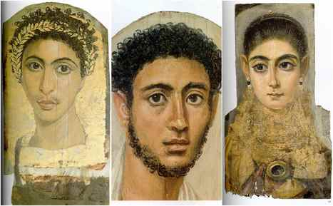 Mummy portraits - Disturbingly realistic wooden paintings depict the ancient faces of Egypt from 2000 years ago | HistoryMs | Scoop.it