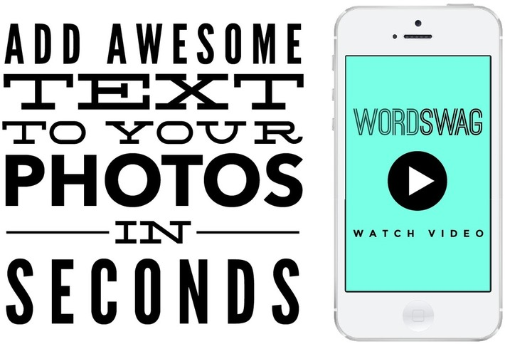 Word Swag App - Generate Cool Text, Words & Quotes on Your Photos | ❤ Social Media Art ❤ | Scoop.it