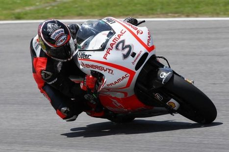 MotoGP: Ducati Test Cut Short by Rain, Biaggi Posts 1'52.1 | Ductalk Ducati News | Scoop.it