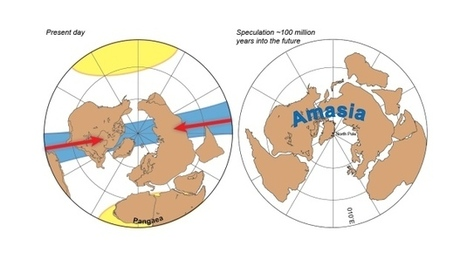 Supercontinent Amasia to take North Pole position | Geochemistry | Scoop.it