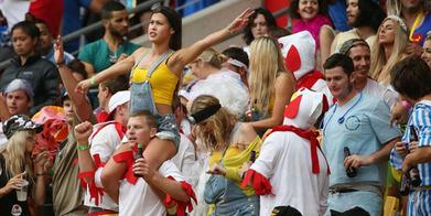 Sevens fans keep smiling - Sport - NZ Herald News | Wellington Sevens | Scoop.it