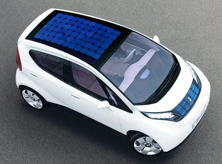 Solar Powered Blue Car Hitting the Streets in 2010 | Green Living | Scoop.it