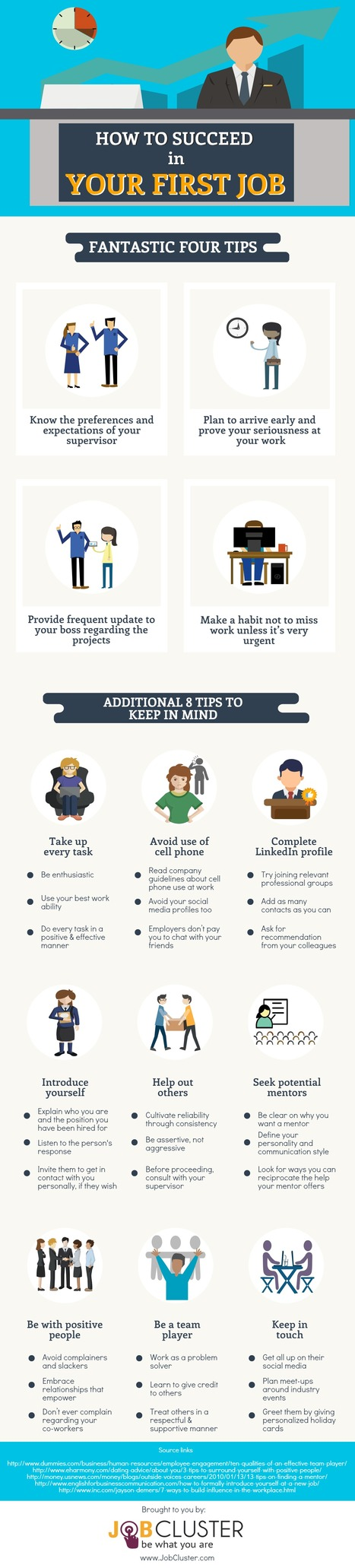 14 Tips for Your First Job- Infographic | Latest Career News & Advice | Scoop.it