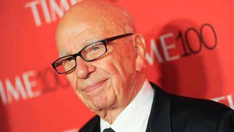 Rupert Murdoch passe la main à son fils James | DocPresseESJ | Scoop.it