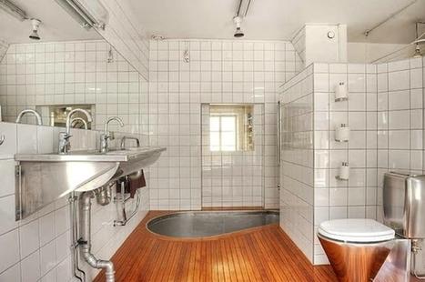 Une salle de bain très…originale ! | | Salle de bains | Scoop.it