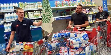 Crise du lait: grosse mobilisation nationale pour faire plier Lactalis - Le Monde | Le Fil @gricole | Scoop.it