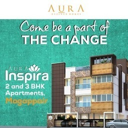 2 BHK flats for sale in chennai | Aura Deziner Homes | Scoop.it