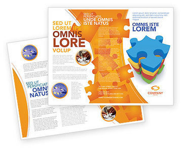 Puzzle Complete Brochure Template | Brochure Templates | Scoop.it