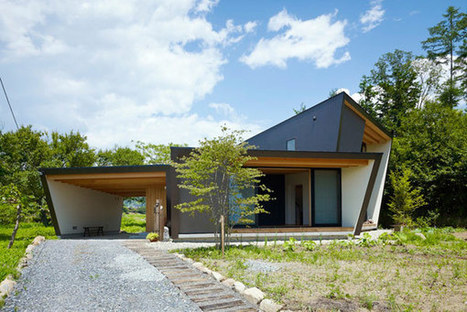 Creatively Adapted to A Moderate Climate: Yatsugatake Villa in Japan | sustainable architecture | Scoop.it