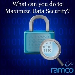What can you do to Maximize Data Security? | Ramco Cloud Software | Scoop.it