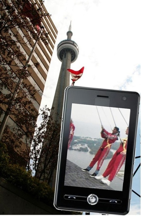 Augmented reality gives a taste of the extreme CN Tower EdgeWalk | Augmented Reailty | Scoop.it
