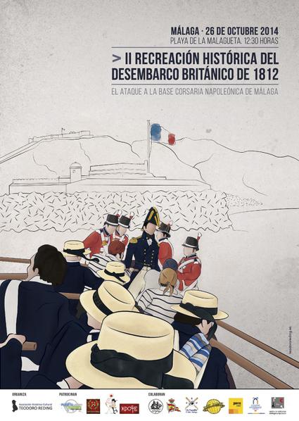 Buscamos pequeños mecenas: II Recreación Histórica del desembarco británico de 1812 en Málaga | Cosas de mi Tierra | Scoop.it