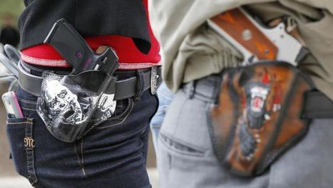 Etats Unis: le Texas autorise le port d'armes visibles | Sociétés & Environnements | Scoop.it