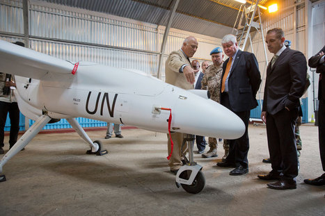 UN News - UN launches unmanned surveillance aircraft to better protect civilians in vast DR Congo | Defence & Security | Scoop.it