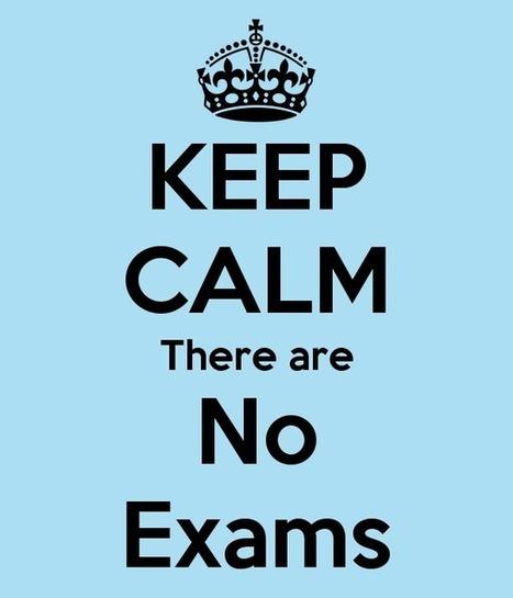 No más exámenes | Bibliotecas escolares, promoción de la lectura, formación, redes y entornos profesionales | Scoop.it