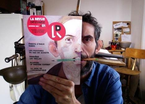 La Revue Dessinée: giornalismo indipendente, a fumetti | Eightball | Scoop.it