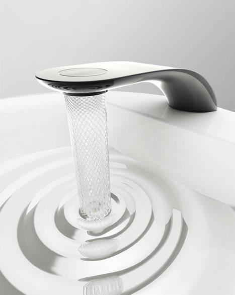 Le robinet conçu par cet étudiant économise l'eau en lui imposant des mouvements superbes. | Innovation - Environnement | Scoop.it
