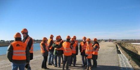 Inond'actions et les élus en visite sur la LGV à Vestric - Midi Libre | CNM | Scoop.it
