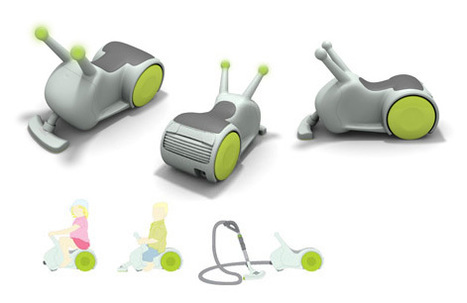 Rideable Vacuum Cleaner - Happy Xmas | Art, Design & Technology | Scoop.it