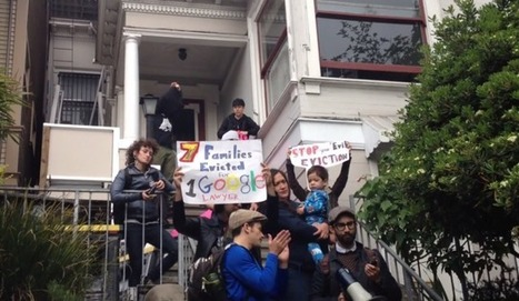 SF housing protests get personal as another Googler is confronted at home | Trivium | Scoop.it