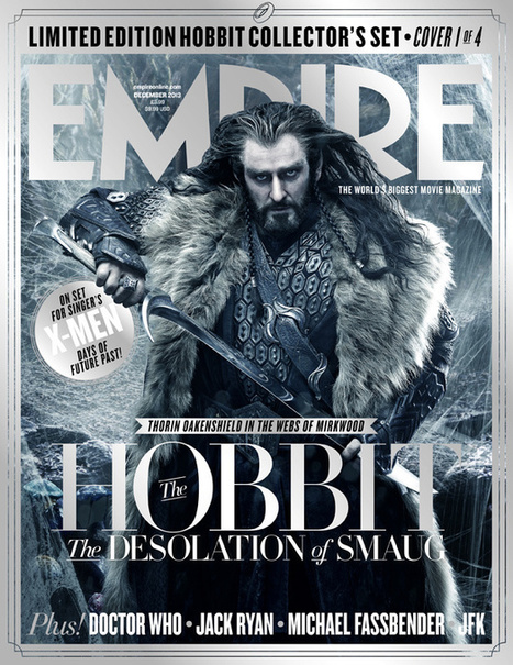 Empire Reveals Five Different The Hobbit: The Desolation of Smaug Covers   'The Hobbit' Film   Scoop.it
