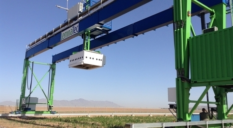 World's Largest Robotic Field Scanner Now in Place | UANews | CALS in the News | Scoop.it