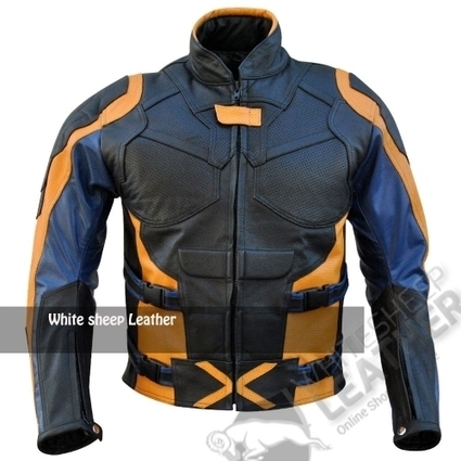 X-Men: The Days of Future Past Motorcycle Leather Coat Jacket | movie leather jackets | Scoop.it