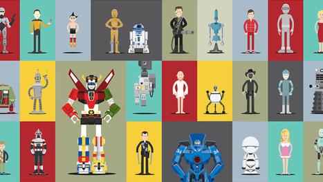 ¿Reconoces a estos 66 robots del mundo del cine y la televisión? | cultura y sociedad | Scoop.it